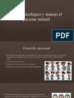 Perfil psicológico y manejo el paciente infantil (1)