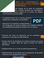 7.3.4 REGLAS PARA EL OTORGAMIENTO DE CONSTANCIAS  DE ASIGNACION POR EL PRINCIPIO DE REPRESENTACION PROPORCIAL