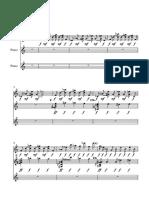 Octavarium teclas - Partitura completa