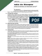 ESTUDIO DE RIESGOS -DIA- ESTACION DE SERVICIOS TOMYC EIRL-SAN MIGUEL