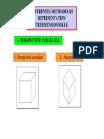 présentation tridimensionnelle