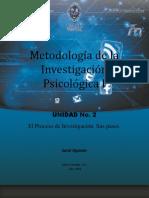 Metodología de la Investigacion Psicologica I Unidad 1