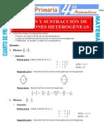 Suma-y-Resta-de-Fracciones-Heterogeneas-para-Cuarto-de-Primaria