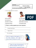 Ficha Clase 19 Lenguaje