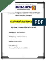 Síntesis cronológica sobre los orígenes y la evolución de la Universidad