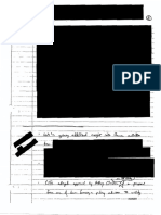 handwritten notes declassified and released by DNI Ratcliffe