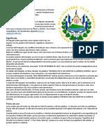 Significado Escudo de El Salvador