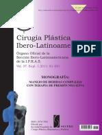 Cirugia Plastica Ibero-Latinoamericana Suplemento 2011