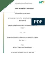 Evolución de la economía y política energética en México