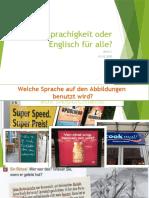 Mehrsprachigkeit oder Englisch für alle