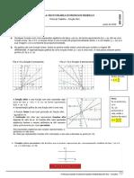 Ficha de Reforço- Função Afim.
