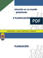 Administracion i Unah II Parte Planificacion