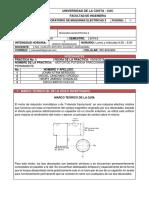 Informe 5 - Motor de potencia fraccionaria con capacitor permanente