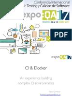 Docker and CI