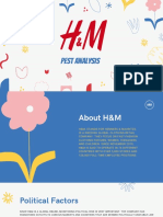 H&M PEST Analysis