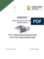UNIDAD I Reseña histórica-Angel Villanueva