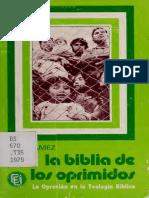La biblia de los oprimidos, la opresión en la teología bíblica.pdf