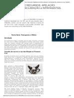 RESUMÃO SOBRE RECURSOS_ APELAÇÃO, EMBARGOS DE DECLARAÇÃO e INFRINGENTES, AGRAVOS _ Profa. FERNANDA RESENDE.pdf