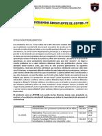 1er PROYECTO INTERDISCIPLICARIO ENFRENTANDO EL COVID 19