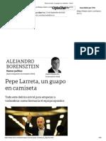 Pepe Larreta, un guapo en camiseta - Clarín.pdf