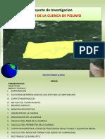 TRABAJO DE INV. FORMATIVA HIDROLOGIA CUENCA PISUAYO