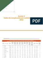 05_Anexo_A_Índice de marginación por entidad federativa, 2015
