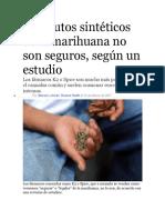 Sustitutos sintéticos de la marihuana no son seguros.docx