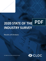 CLOC 2020 State of the Industry Survey Report