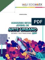 Convocatoria de Arte Urbano Edomex 2020