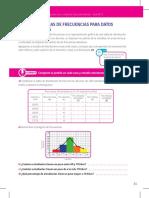 CLASE 7. TABLAS DE FRECUENCIAS DATOS AGRUPADOS PAG33-35