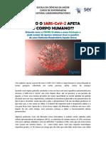 Como o SARS-CoV-2 afeta o corpo humano