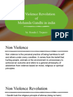Non Violennce Revolution ( actiivity 10)