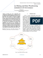 Review of Data Mining and Data Warehousing Implementation in E-Governance