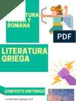 DIAPOSITIVAS- LITERATURA GRIEGA Y ROMANA