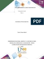 Paso 1 - Reflexión DPLM - Klovis Sanchez