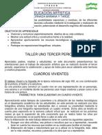 1.TALLER DE ARTISTICA 3 PERIODO