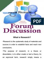 Forum Discussion.pptx