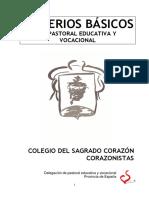 Pastoral Educativa y Vocacional HSC