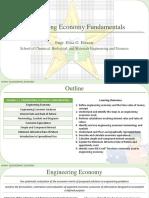 1.1 Engineering Economy Fundamentals