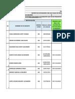 FORMATO SEGUIMIENTO INSTITUCIONES EDUCATIVAS PROFE PERIODO 2 GRADO DECIMO UNO