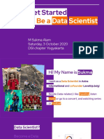 Get Started to Be a Data Scientist