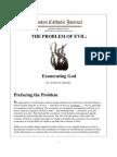 The-Problem-of-Evil-Exonerating-God