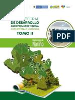 PLAN INTEGRAL DE DESARROLLO AGROPECUARIO NARIÑO TOMO II