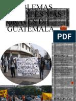Problemas sociales más graves de Guatemala
