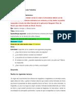 Listado de actividades Ciencia y tecnologia 2º