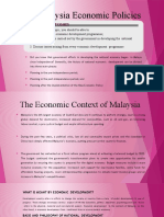MPU 1153 - Malaysia Economic Policies
