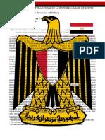 Posicion Oficial de Egipto