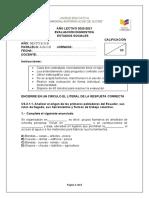 PRUEBA DE DIAGNOSTICO CSS