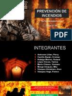 PREVENCIÓN DE INCENDIOS - 1