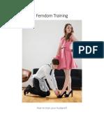 Femdom Training ( PDFDrive )